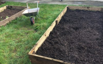 Gardening at Hurst